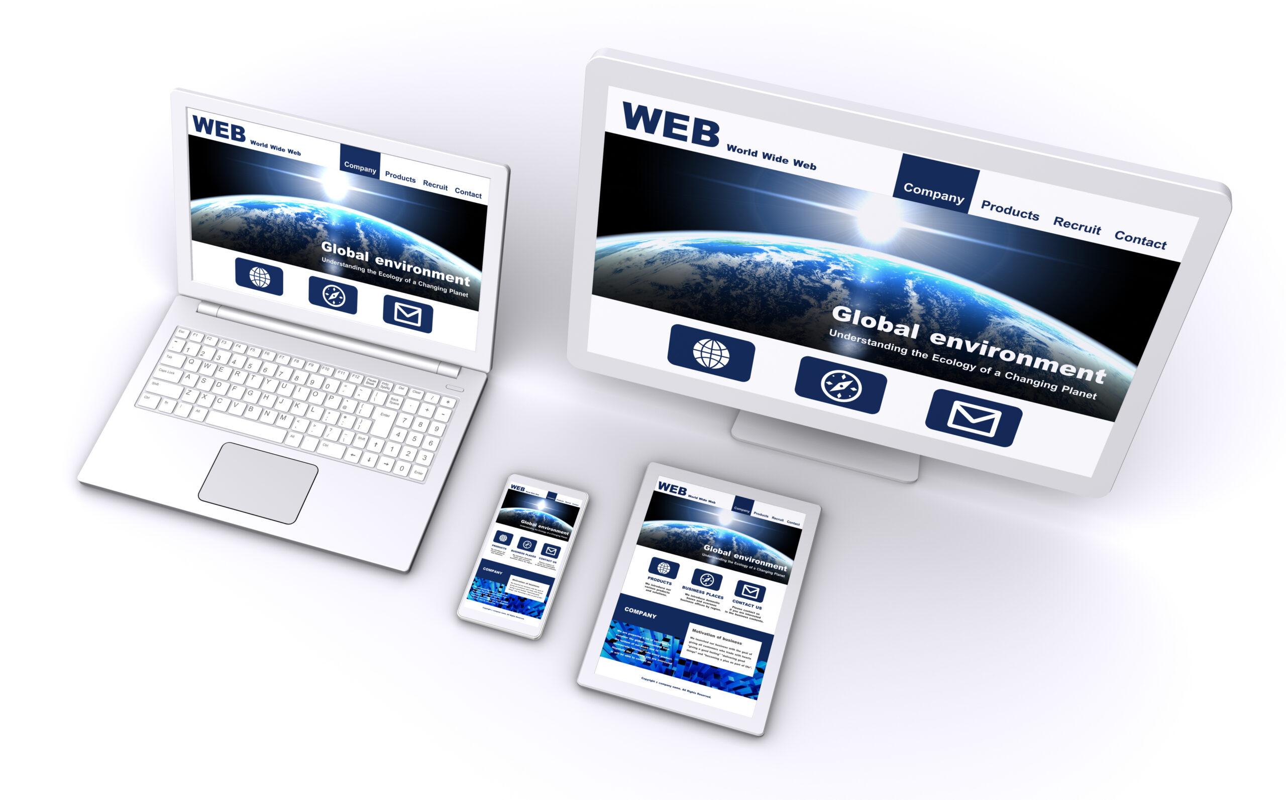 WEBを活用した宣伝広告事業